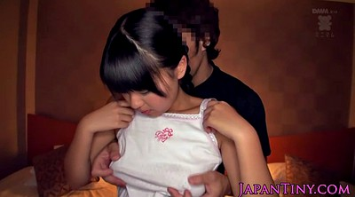 Hairy teen, Japanese tied