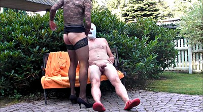 Nylon, Hard spank, Hard spanking, Gay spank, Crossdresser, Kissing