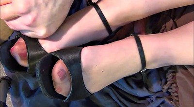 Nylon foot, Shoes, Nylon feet, Stock, Heel shoe