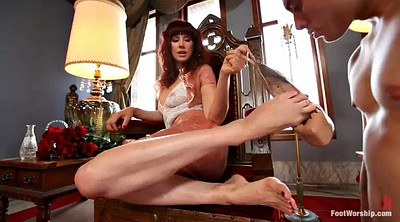 Footjob, Foot worship, Milf footjob