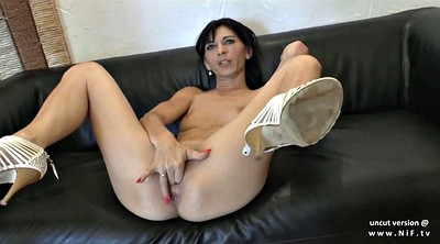Skinny anal, Casting anal, French milf anal, Cum in ass, Skinny milf, Mouth cum
