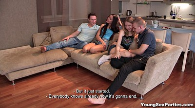 Couple, Foursome, Couple foursome, Young couple, Double penetration, Two couples
