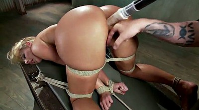 Rope, Boobs, Roped, Dildo blonde