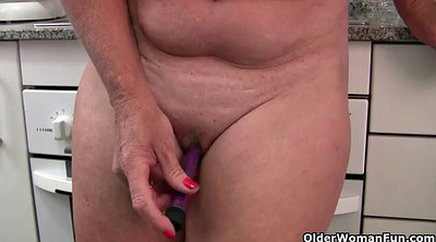 Granny masturbation, Mature french