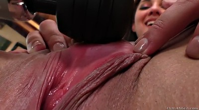 Close up, Gaping pussy, Pussy gaping, Big ass anal