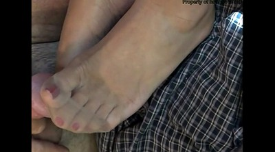 Stocking feet, Feet nylon, Foot tease