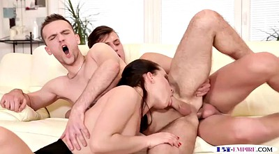 Maid, Mmf, Double penetration, Maid anal
