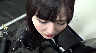 Latex, Japanese black, Japanese handjob, Japanese bondage, Catsuit, Japanese cute