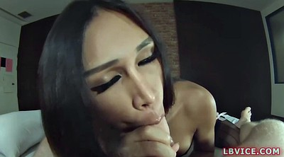 Asian anal, Blowjob facial
