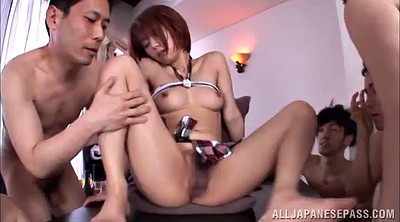 Japanese gangbang, Gangbang asian