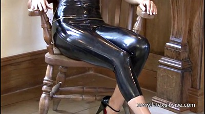 High heels, Latex, High heels solo