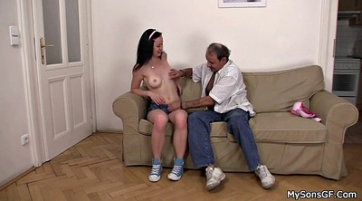 Father, Cock, Czech girl