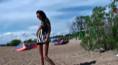 Beach, Naked, Upskirts, Russian public