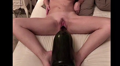 Huge dildo, Bottle