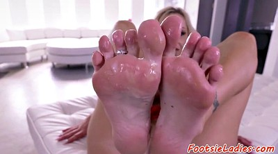 Footworship, Massage foot, Massage feet, Busty massage