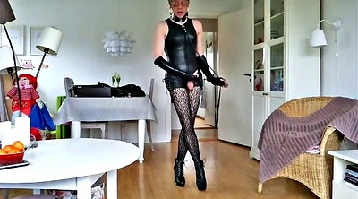 Sissy, Leather, Leather boots, Boots m