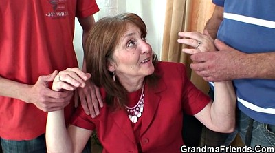 Granny, Young mature, Old young, Meet, Milf threesome, Meeting