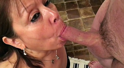 Pov blowjob, Mature pov