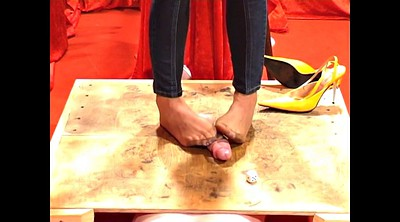 Foot nylon, Trampling, Trample, Nylon feet