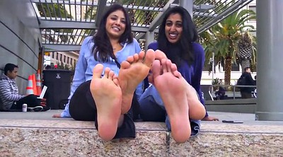 Indian, Girl feet, Feet show