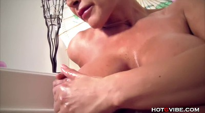 Lisa ann, Wife massage, Vibrator massage, Soapy, Massage big