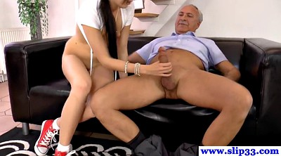 Old man, Old man cumshot