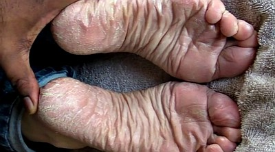 Masturbating, Sole, Feet sole