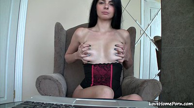 Webcam, Teen girl solo