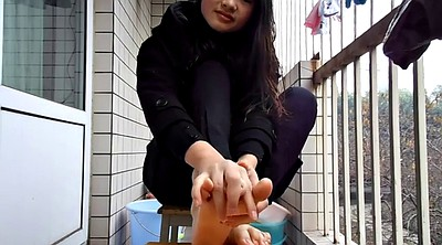 Chinese foot, Chinese feet, Chinese teen, Teen feet, Asian foot, Asian feet