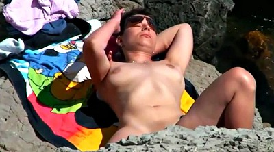 Beach, Puffy nipples