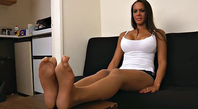 Pantyhose foot, Pantyhose fetish
