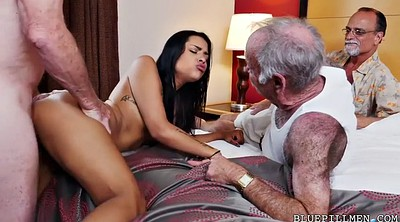 Old and young, Farting, Pickup, Nikki, Foursome, Fartting