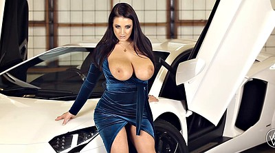 Car, Heels, Beauty solo, In car, Woman, Big woman