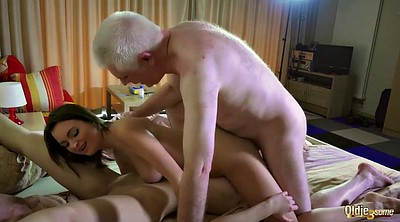 Grandpa, Young girl, Young girls, Beautiful girl, Cum swallow, Swallowed