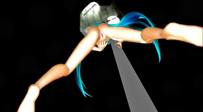 Mmd, Blue hair