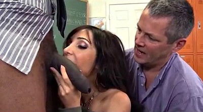 Classroom, Husband watches, Son anal, Husband watch