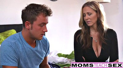 Julia ann, Creampie, Step son