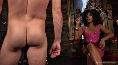 Open, Ebony bondage
