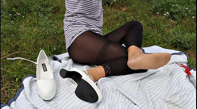 Spanking, Whipping, Spanking outdoor, Feet heels