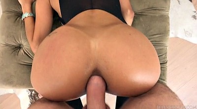 Tanned, Massive cumshot