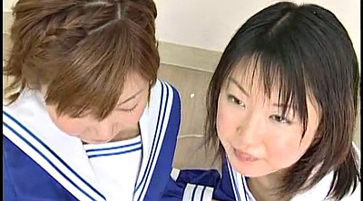 Swallow, Swapping, Japanese schoolgirl, Cum swallowing