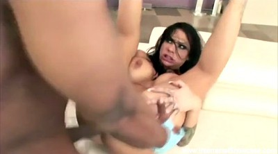 Squirting, Interracial creampie, Anal squirt, Anal squirting