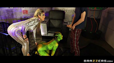 Danny d, Alien, Aliens, Cosplay blowjob