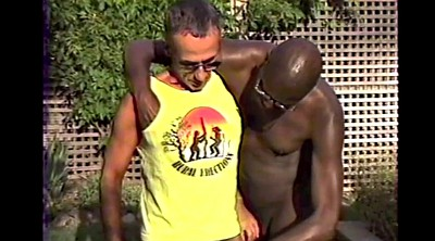 Dad, Outdoor, Daddy gay, Vintage gay, Tanned, Vintage interracial