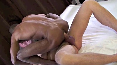 Old and young, Muscle, Gay cum, Young cum, Raven