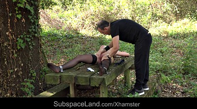 Young bondage, Bondage young, Spanking punishment, Punishment, Outdoor bdsm