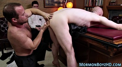Bound, Big butt, Old gay, Elder, Ass lick