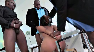 Throat, Asian gangbang, Asa akira