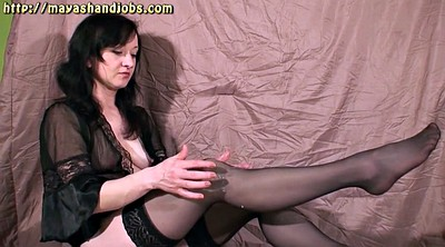 Leggings, Nylons, Nylon leg