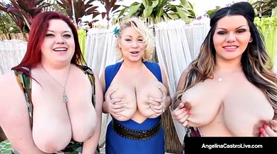 Bbw huge tits, Foursome